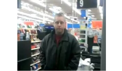 Oklahoma Walmart Masturbator Caught on Tape