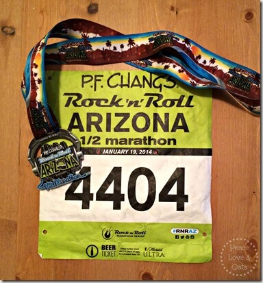 Rock N Roll Arizona Half Marathon Race Re-Cap