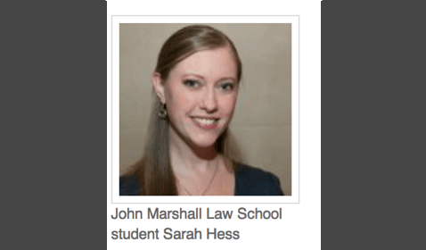 Student from Chicago's John Marshall Law School Wins Prestigious Skadden Fellowship