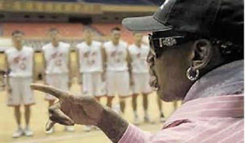 Dennis Rodman Angrily Defends Basketball Game in North Korea