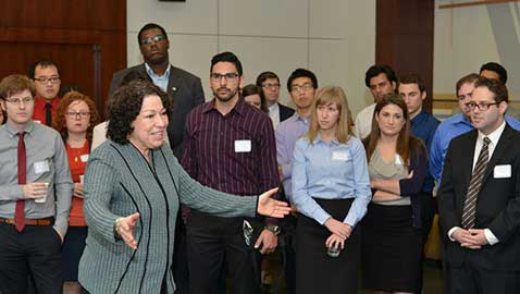 U.S. Supreme Court Justice Sotomayor Speaks to UCLA Law Students