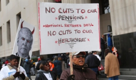 Detroit Bankruptcy Plan Pinches Pensions