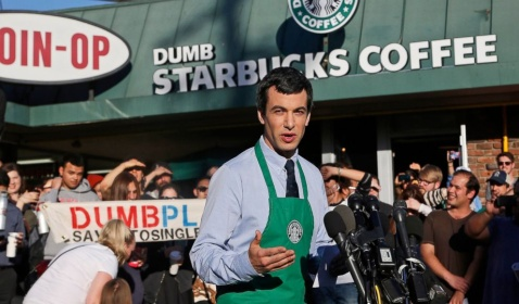 Dumb Starbucks Parody