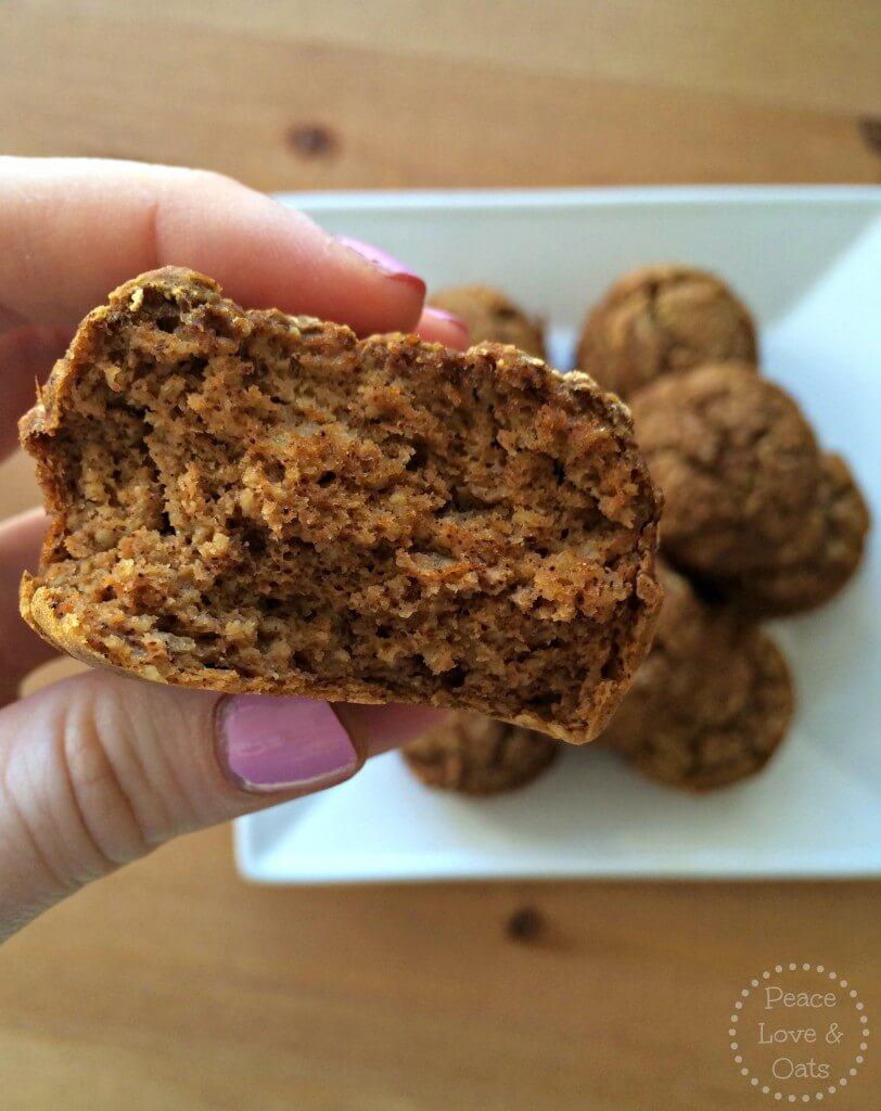 pumpkin protein muffins 1