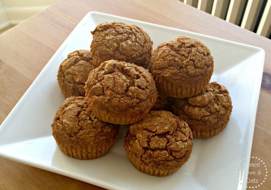 pumpkin protein muffins 2