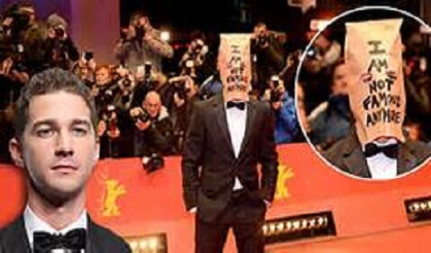 Young Actor Shia LaBeouf Making Not so Good of an Impression in Berlin and Online