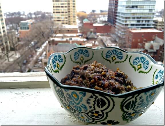 Quinoa Broccoli Black Bean Stew