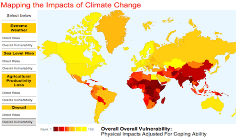 The Impacts of Climate Change on the World