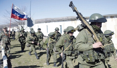 Russian Leader Defends Intervention in the Crimean Peninsula