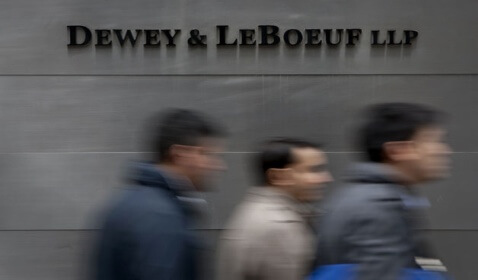 Guilty Pleas Unsealed in Dewey & LeBoeuf Management Fraud