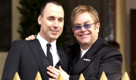 Elton John and Longtime Partner David Furnish Tie the Knot