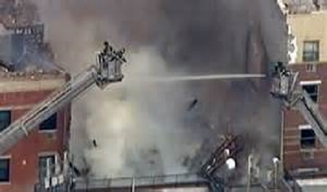 Manhattan Explosion Collapses Two Buildings in Spanish Harlem, 2 Dead