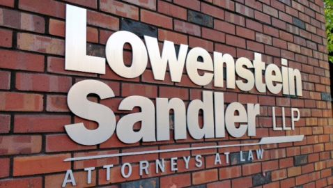 james gregory, lowenstein sandler, law firm news