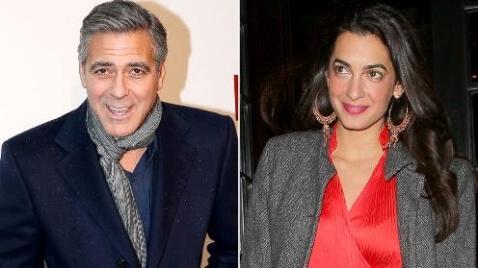 George Clooney Engaged to Amal Alamuddin