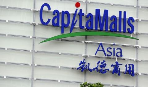 CapitaMalls Asia Shares Rise