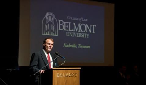 Alberto Gonzales Named Dean of Belmont University