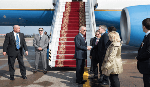 U.S. Vice President Joe Biden's Visit to Kiev