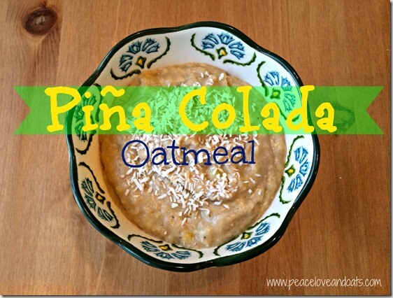 Piña Colada Oatmeal