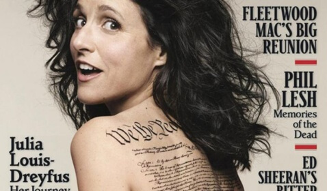 Rolling Stone Magazine Cover Julia Louis-Dreyfus Error
