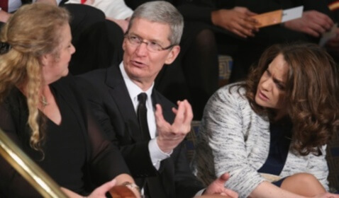 Apple CEO Tim Cook Calls on the United States Congress