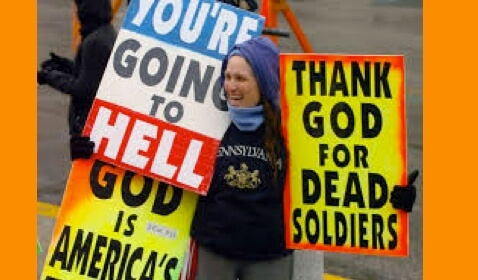 The Westboro Baptist Church Asked to Leave Town