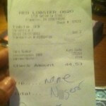 Man Sues Red Lobster and Server After Reported Racial Slur on Receipt Goes Viral