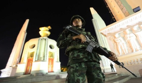 Thailand's Military Seized Power, Dissolving the Government