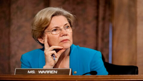 Senator Elizabeth Warren Slams Banking Regulatory Agencies