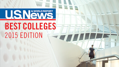 2015 Best Colleges Announced by U.S. News & World Report
