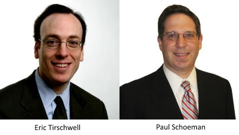Eric Tirschwell and Paul Schoeman
