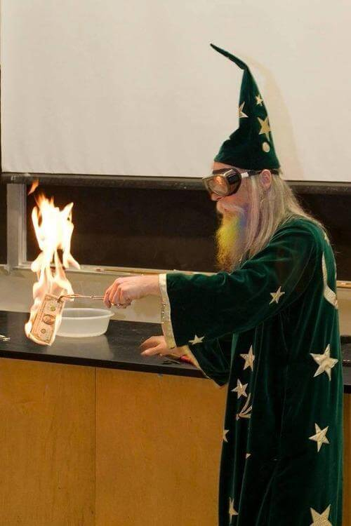Gandalf Substitutes at College