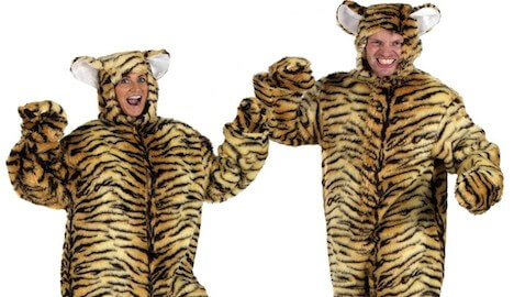Tiger Costume Nearly Ruins Man Life