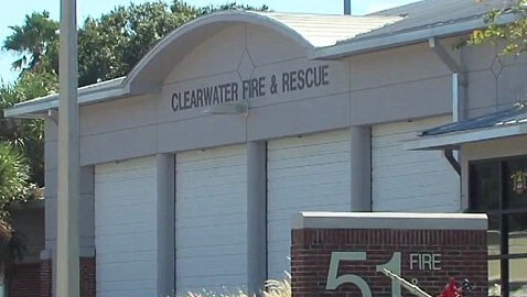 sex on duty, firefighter resigns, Clearwater