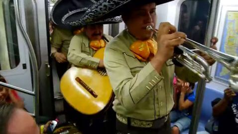 Party on the 4 Train in New York City