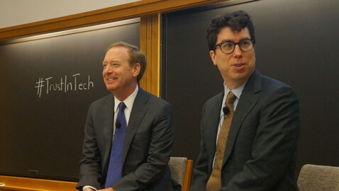 Microsoft, Brad Smith, general counsel