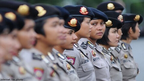 Policewomen in Indonesia must pass a virginity test before being admitted to the force.