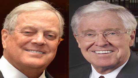 Charles Koch has vowed to take on the criminal justice system in the United States.
