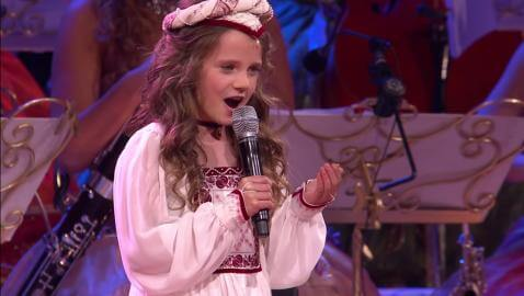 Amazing young opera singer