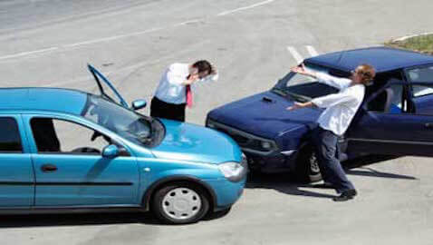 A law firm auto insurance policy did not cover an attorney who was involved in an accident on the way to work, a Virginia court has ruled.