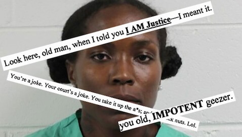 A Florida woman filed a brief that insulted the judge for his decision to dismiss her case.