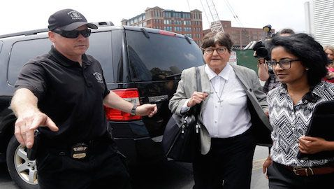 Sister Helen Prejean, an advocate against the death penalty, testified on behalf of the Boston Bomber at the end of the trial.
