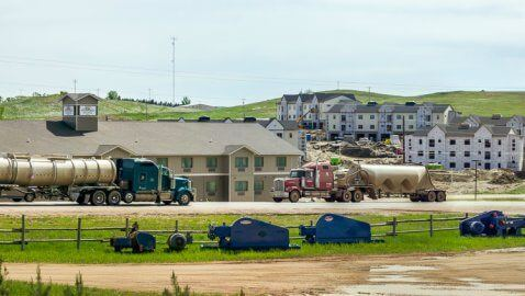 North Dakota housing project