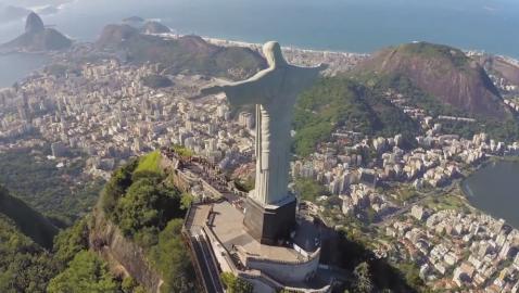Christ the Redeemer Statue in Rio de Janeiro
