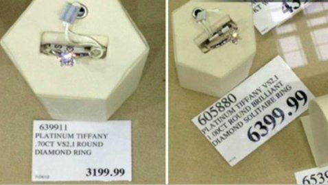 Costco Tiffany rings