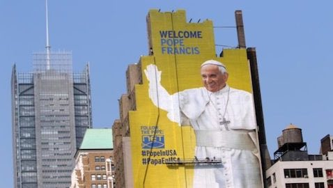 During Pope Francis' visit to New York, he will address the United Nations and meet with world leaders.