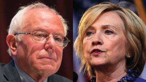 Bernie and Clinton
