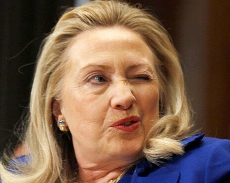 Hillary wink