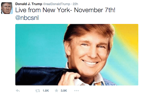 Trump - airbrushed