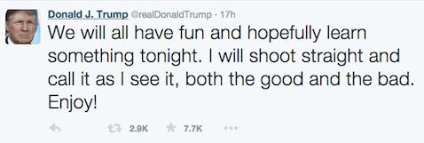 Trump - nice guy
