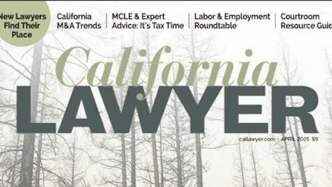California Lawyer, a well-respected legal publication out of the Bay area, has shut down.